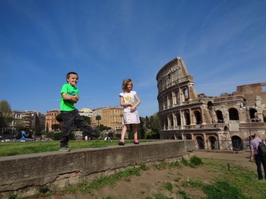 Your children might dance on ancient ruins.